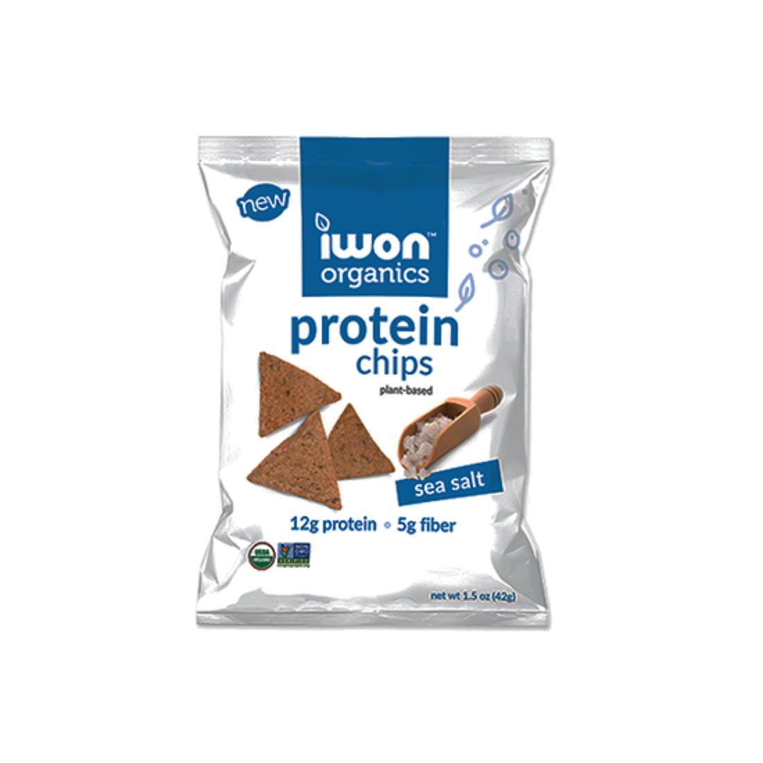 Snack bổ sung protein hữu cơ Iwon (42g) vị muối biển-Thế giới