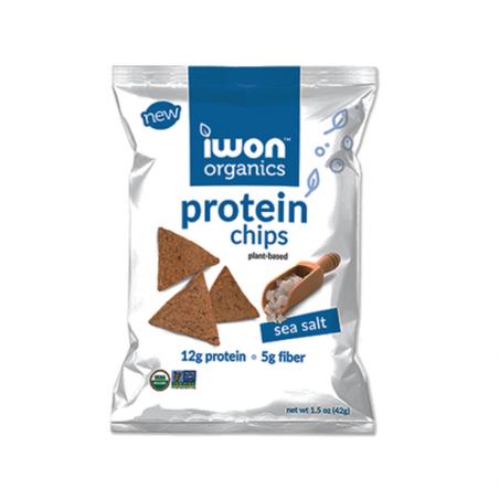 Snack bổ sung protein hữu cơ Iwon (42g) vị muối biển