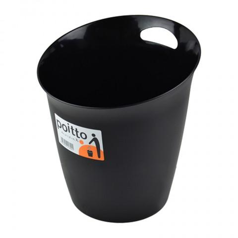 Thùng rác nhựa văn phòng tròn 5.5L-Thế giới đồ gia dụng HMD