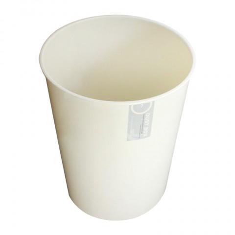 Thùng rác văn phòng 7L - Màu trắng kem-Thế giới đồ gia dụng HMD