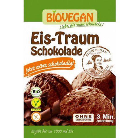 Bột làm kem socola hữu cơ Biovegan (77g)-Thế giới đồ gia dụng