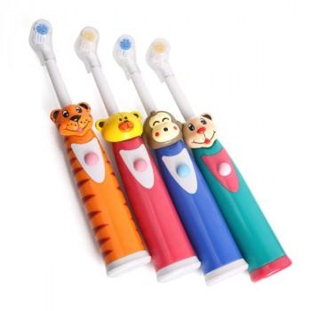 Bàn chải đánh răng tự động hình thú cho bé-Thế giới đồ gia dụng