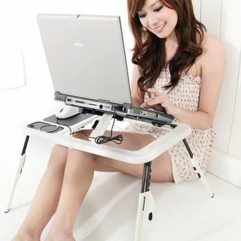 Bàn để laptop đa chức năng E-Table-Thế giới đồ gia dụng HMD