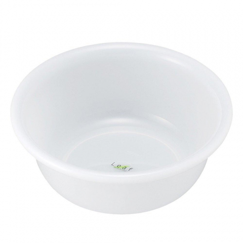 Chậu nhựa tròn 2,9 lít - Màu trắng-Thế giới đồ gia dụng HMD