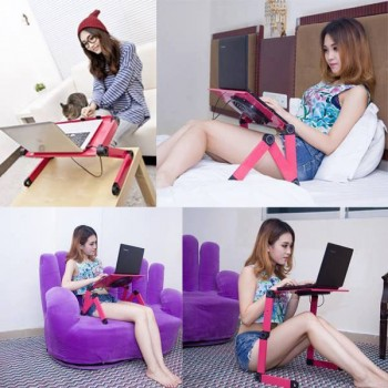 Bàn để laptop xoay đa năng chống mỏi lưng-Thế giới đồ gia dụng