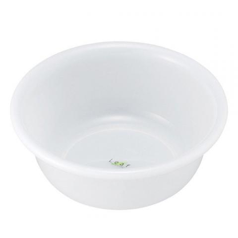 Chậu nhựa tròn 3,5 lít - Màu trắng-Thế giới đồ gia dụng HMD
