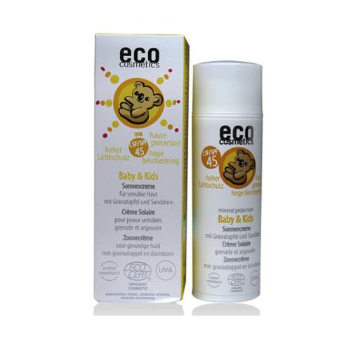 Kem chống nắng trẻ em spf 45 hữu cơ Eco (50ml)-Thế giới đồ gia