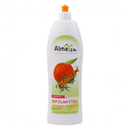 Nước rửa chén hương quýt hữu cơ Almawin (1lit)