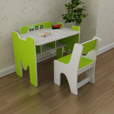 Bộ bàn trẻ em Yamada Kids BH03 - Xanh lá