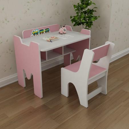 Bộ bàn trẻ em Yamada Kids BH03 - Hồng