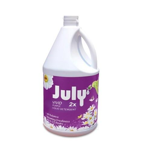 Nước giặt xả July 2X Vivid Purple - 3500ml Tím-Thế giới đồ gia