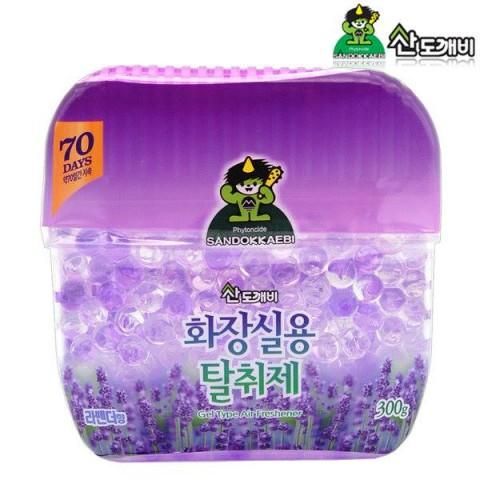 Sáp thơm khử mùi Sandokkaebi Lavender 300g-Thế giới đồ gia dụng