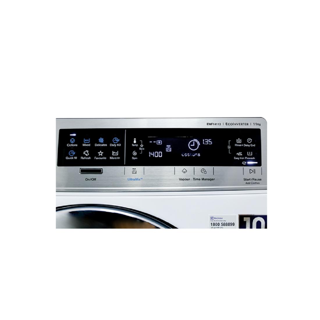 Máy Giặt Electrolux Inverter 11 Kg EWF14113-Thế giới đồ gia