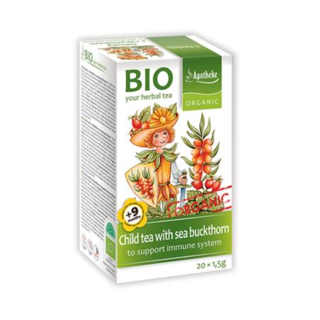 Trà hỗ trợ tiêu hóa cho bé hữu cơ Apotheke (20 gói)