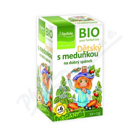 Trà hỗ trợ tiêu hóa cho bé hữu cơ Apotheke (20 gói)-Thế giới đồ
