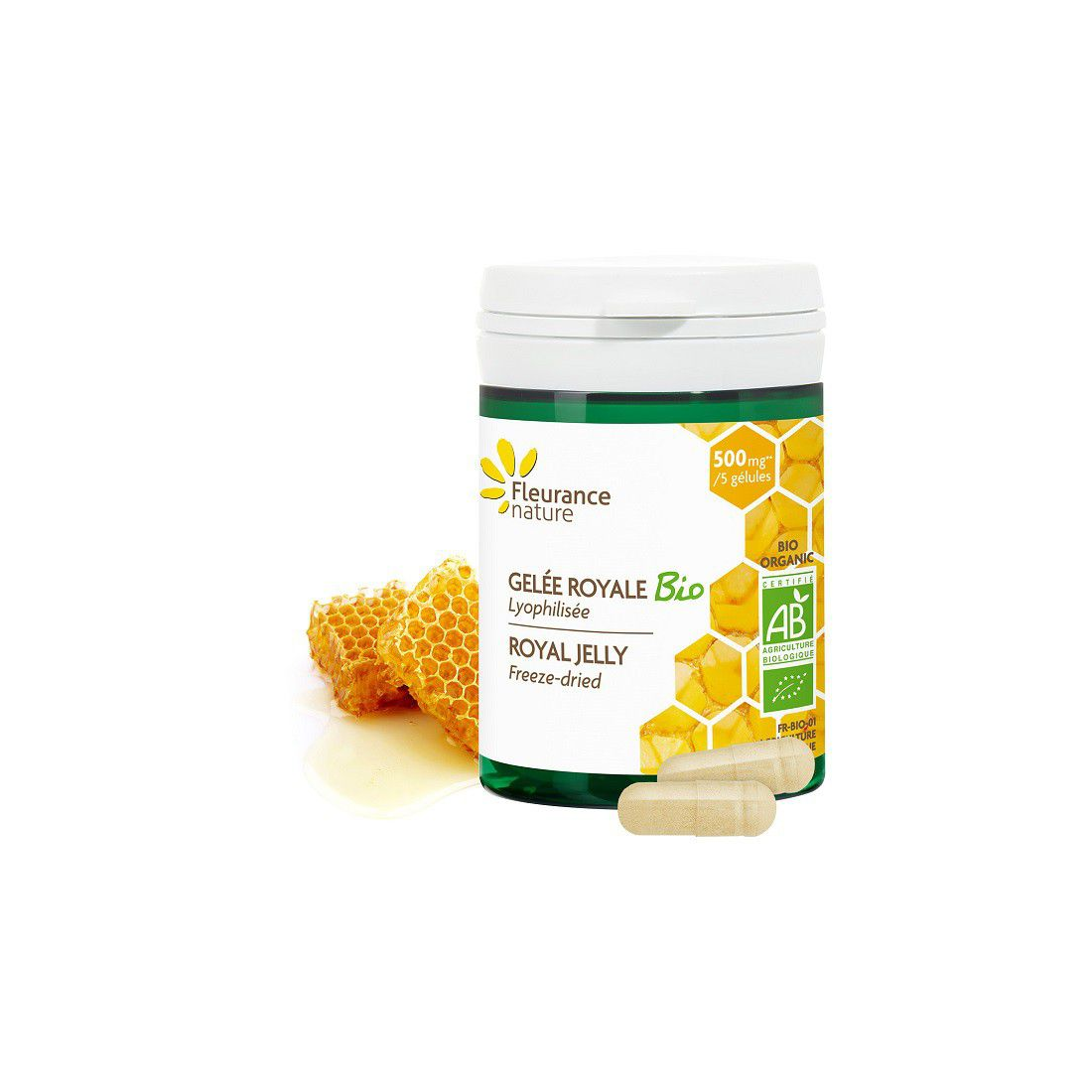 Viên ong chúa hữu cơ Fleurance (50V)-Thế giới đồ gia dụng HMD