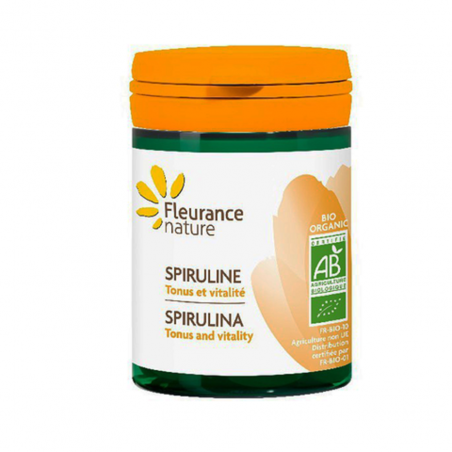 Viên tảo spirulina hữu cơ Fleurance (60V)