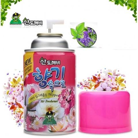 Xịt phòng Sandokkaebi - Hương Lilac chai 300ml-Thế giới đồ gia