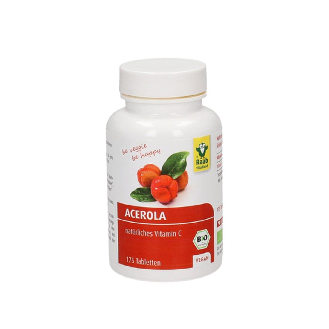 Viên bổ sung vitaminC hữu cơ Raab (175V)-Thế giới đồ gia dụng