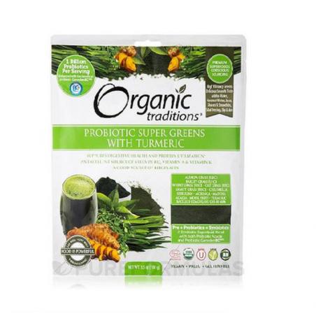 Bột lợi khuẩn siêu thực phẩm xanh hữu cơ OT (100g)