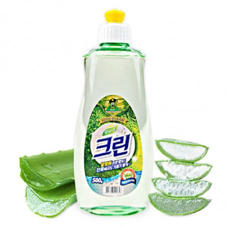 Nước rửa chén Sandokkaebi - Hương nha đam chai 500g