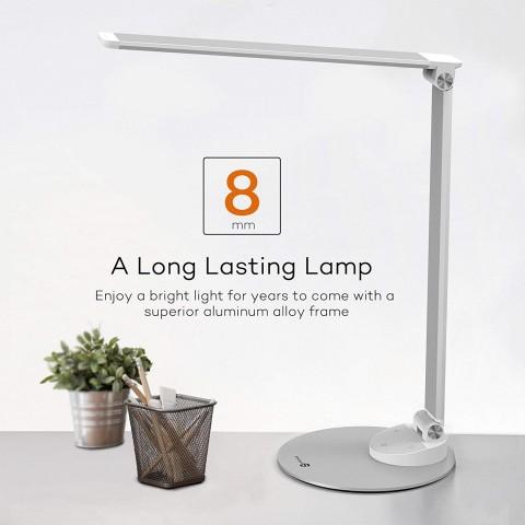 Đèn bàn LED TaoTronics TT-DL19 -Màu bạc-Thế giới đồ gia dụng HMD