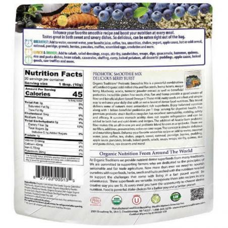 Bột lợi khuẩn dừa socola hữu cơ OT (200g)-Thế giới đồ gia dụng