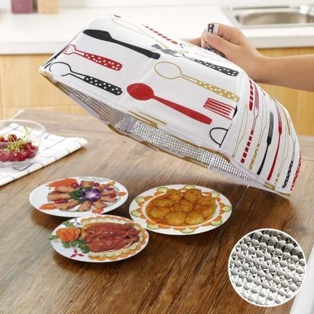 Lồng bàn giữ nhiệt thức ăn gấp gọn size to