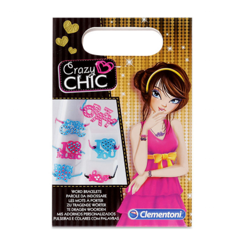 Bộ sản phẩm Crazy Chic Word bracelets-Thế giới đồ gia dụng HMD