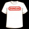 Áo thun Duncan người lớn - màu trắng-Thế giới đồ gia dụng HMD