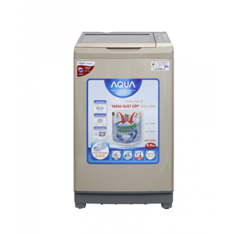 Máy giặt Aqua Inverter 9 kg AQW-DW90AT N-Thế giới đồ gia dụng