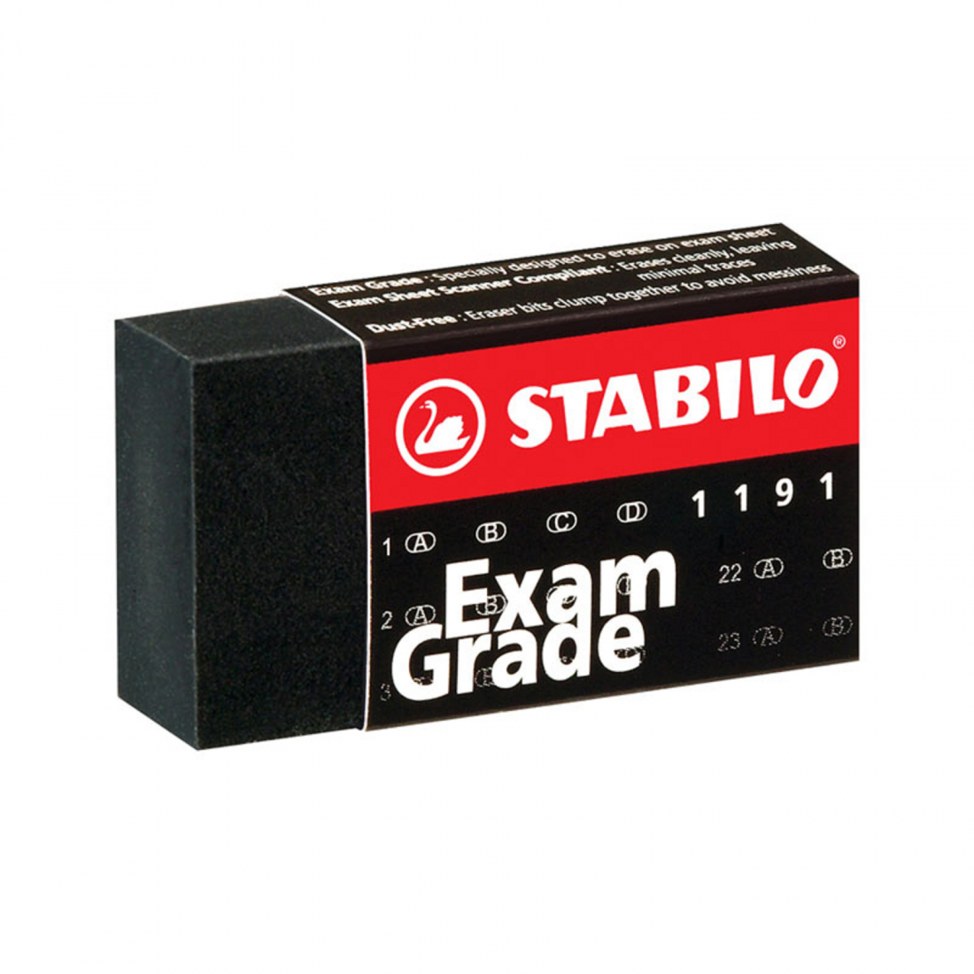 Gôm mini đen Exam Grade-Thế giới đồ gia dụng HMD