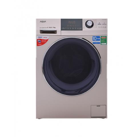 Máy giặt sấy Aqua Inverter 10.5Kg AQD-DH1050C-Thế giới đồ gia