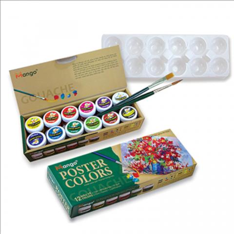 Màu vẽ 10 ml -12 màu-Thế giới đồ gia dụng HMD