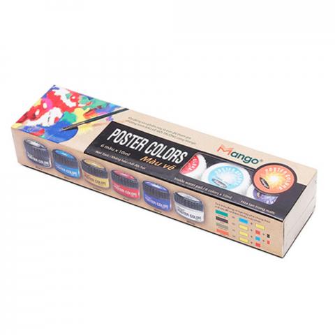 Màu vẽ 10ml-6 màu-Thế giới đồ gia dụng HMD