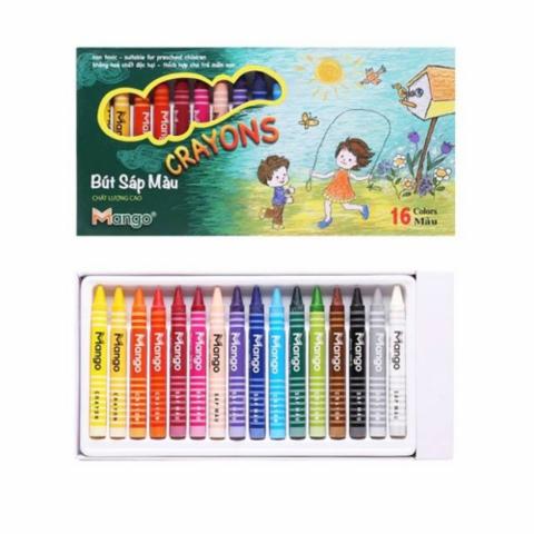Bút sáp 16 màu-Thế giới đồ gia dụng HMD