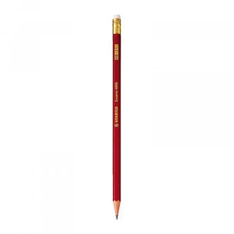 Bút chì gỗ HB có gôm tẩy-Thế giới đồ gia dụng HMD