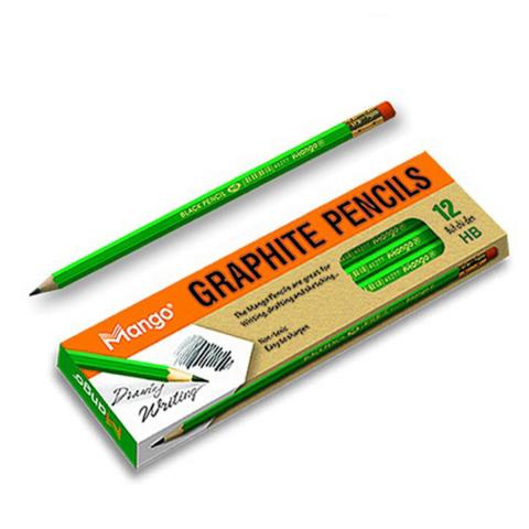 Bút chì gỗ HB (12 cây/hộp )-Thế giới đồ gia dụng HMD