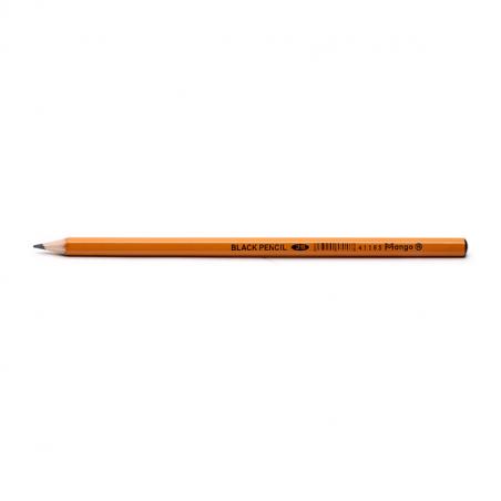 Bút chì gỗ 2 B đen không gôm (12 cây /hộp )