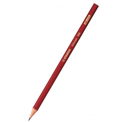 Bút chì Schwan HB, thân đỏ-Thế giới đồ gia dụng HMD