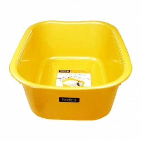 Chậu rửa 9 lít - Màu vàng-Thế giới đồ gia dụng HMD