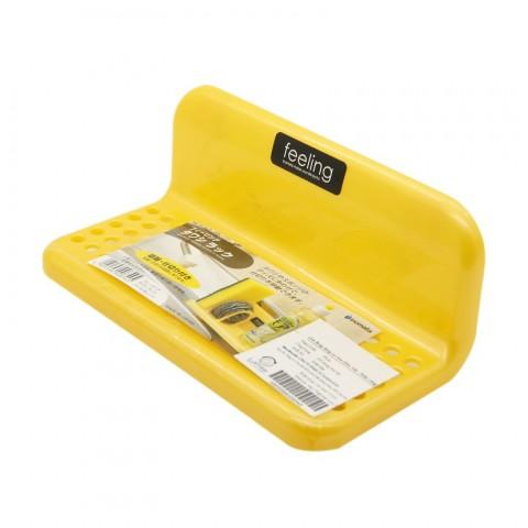 Giá đựng dụng cụ rửa chén, bát - Màu vàng-Thế giới đồ gia dụng