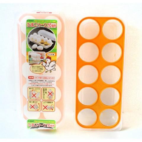 Hộp bảo quản trứng 10 ngăn có nắp-Thế giới đồ gia dụng HMD