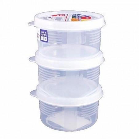 Bộ 3 hộp thực phẩm - Tròn 180ml