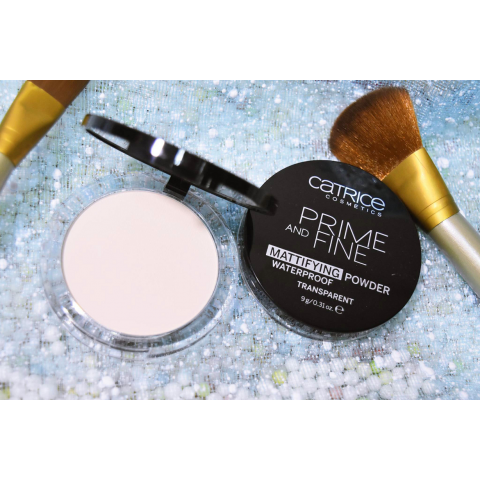 Phấn phủ chống nước CATRICE Prime And Fine Mattifying Powder