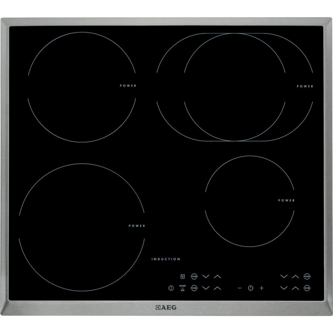 Bếp từ 4 vùng nấu AEG-HK 634250XB-Thế giới đồ gia dụng HMD