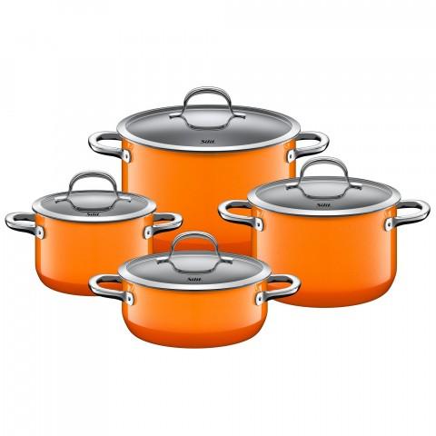 Bộ 4 Nồi Silit Passion màu cam-Thế giới đồ gia dụng HMD