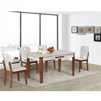 Bộ bàn ghế ăn BA128, GA128-Thế giới đồ gia dụng HMD