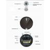 Ilife x660 cảm biến laser 360 độ lập trình đường đi, có lau, tự động sạc