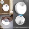 Bộ 3 đèn Tecknet Led 7 cảm ứng-Thế giới đồ gia dụng HMD